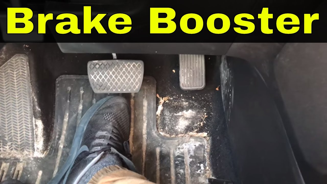 How To Tell If Your Brake Booster Is Working Properly-Hard Brake Pedal  Troubleshooting
