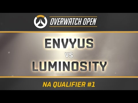 ENVYUS vs LUMINOSITY - Map 1 - Dorado (Overwatch Open - NA Qualifier #1)