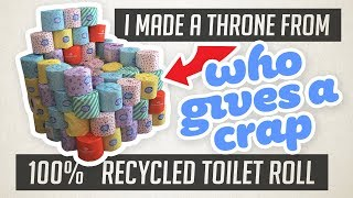 Your Bum Can Save Lives & Trees! | 'Who Gives a Crap' Price Comparison & Review 🧻♻️