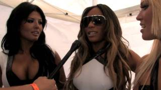 Interview with Girlicious at Splash Bash foam party: Toronto Pride 2010