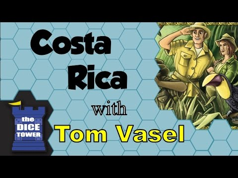 Costa Rica Review - with Tom Vasel