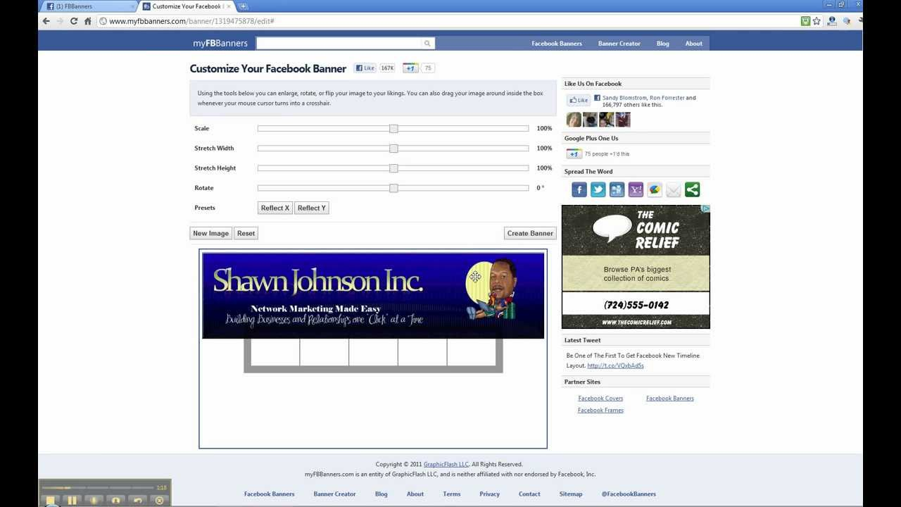 How To Put A Banner On Your Facebook Profile Page - New Version ...
