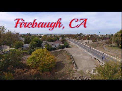 Firebaugh, CA - Bird's Eye View