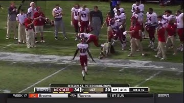 2014.12.26 Bitcoin St Petersburg Bowl | NC State Wolfpack vs Central Florida Knights Football
