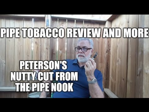 Pipe tobacco review and more. Peterson's Nutty Cut