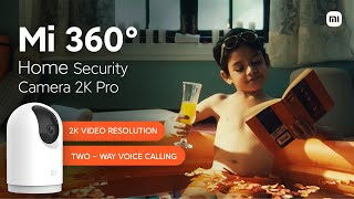 Mi Home Security Camera 2K Pro: 2K Video Resolution, 2-Way Voice Calling