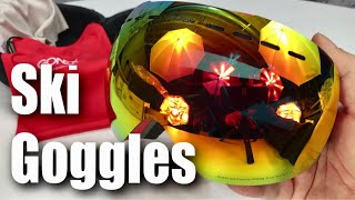 OTG Ski Snowboard Red UV Protection Goggles by Gonex Review