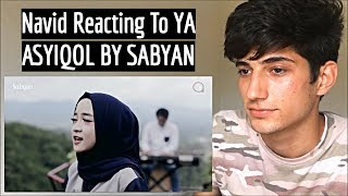 Cover images YA ASYIQOL BY SABYAN REACTION!!