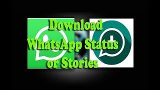 How to Download WhatsApp Story or Status Using Status Saver App. screenshot 1