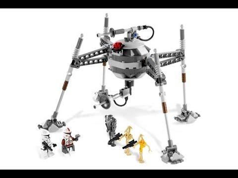 Lego star wars classic reviews separatist spider droid review 7681 youtube - Lego star wars base droide ...