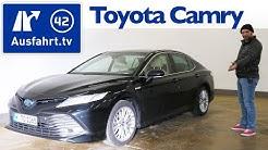 2019 Toyota Camry Hybrid 2.5l VVT-i Executive - Kaufberatung, Test deutsch, Review, Fahrbericht