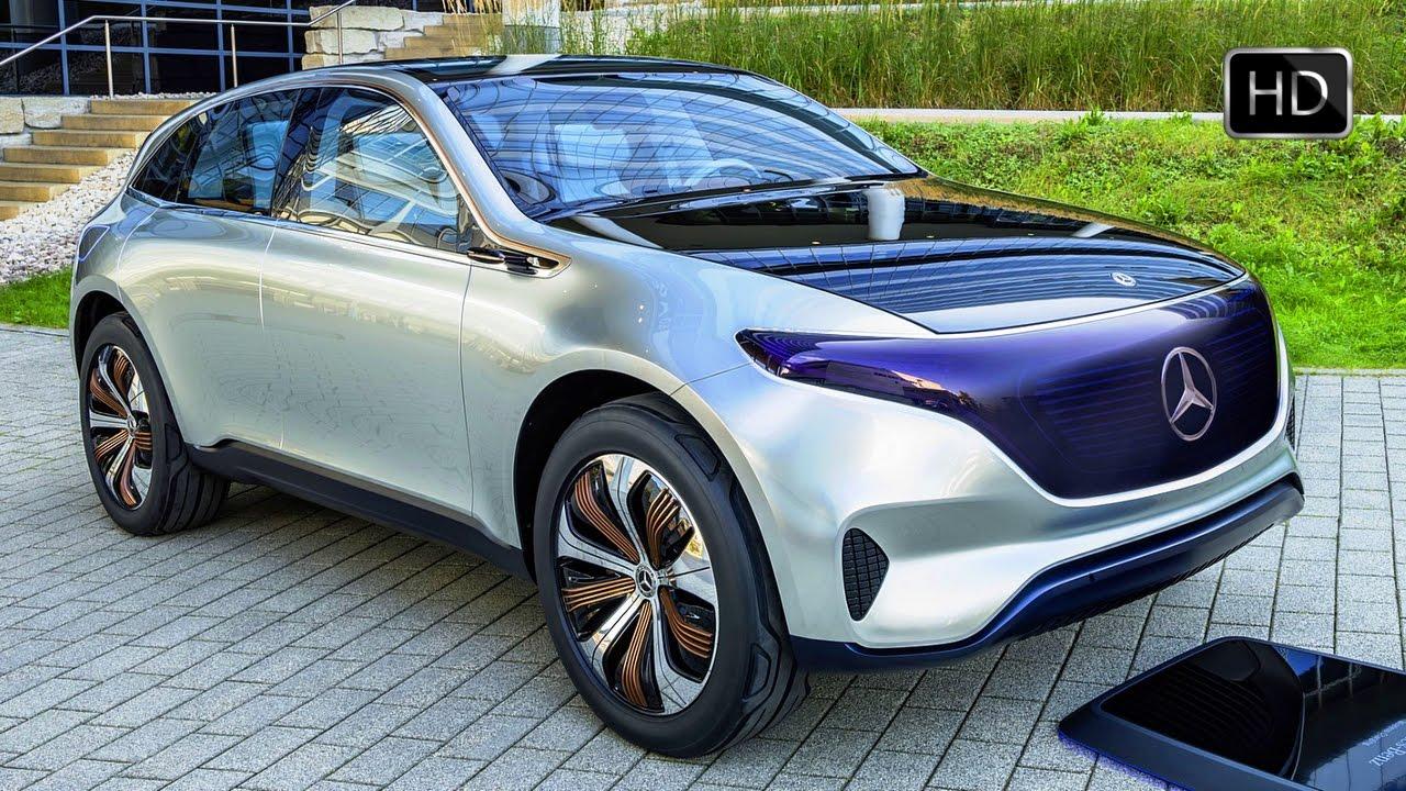 2016 mercedes benz generation eq suv concept exterior for Mercedes benz concept eq