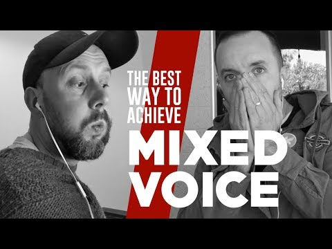 The BEST Way To Achieve MIXED VOICE #600SecondSinging