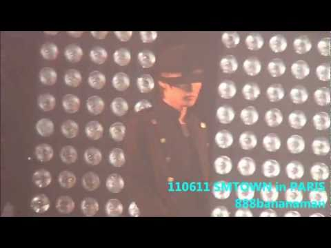 [fancam] 110611 SMTOWN in Paris Dance Battle Forcus Super Junior Eunhyuk & Donghae