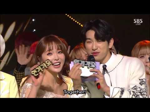 [ENG] Day2 MC Jinyoung Jisoo/ Red Velvet Win/ Thanks Kwanghee!