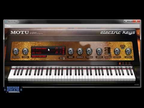 Motu Electric Keys instrument review
