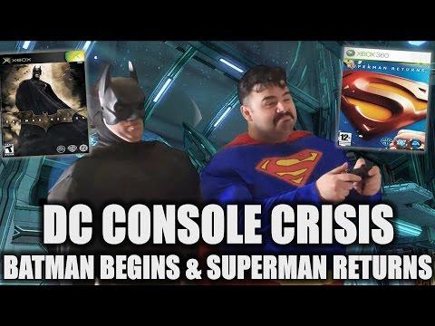 DC CONSOLE CRISIS: Part 5 // Batman Begins - Superman Returns