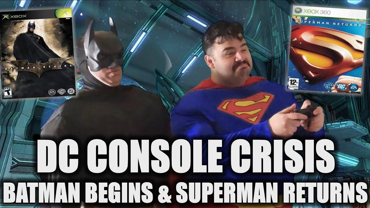 DC CONSOLE CRISIS Part 5 Batman Begins