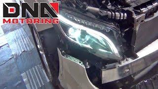 How to Install 14-17 Mercedes GLA 180 AMG Headlights
