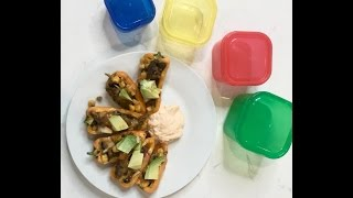 Simple Dinner Recipes for Beginners - Mini Sweet Pepper Nachos