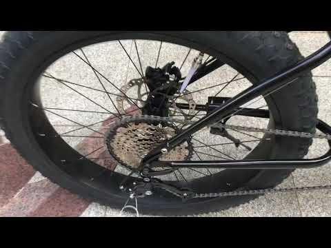 2.4KW Elite Coaxial Mid-drive Fat Bike By Cyclone