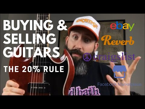 Buying And Selling Guitars - The 20% Rule To Always Come Out On Top