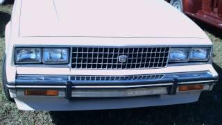 1982 Cadillac Cimarron 4 door Sedan Beige