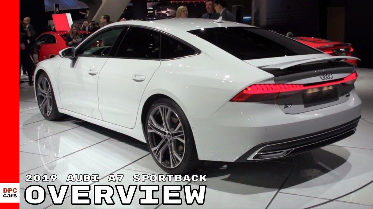 2019 Audi A7 Sportback Overview