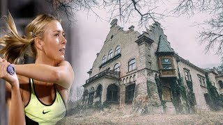 ABANDONED Tennis Players MILLIONAIRE Mansion WITH INDOOR POOL