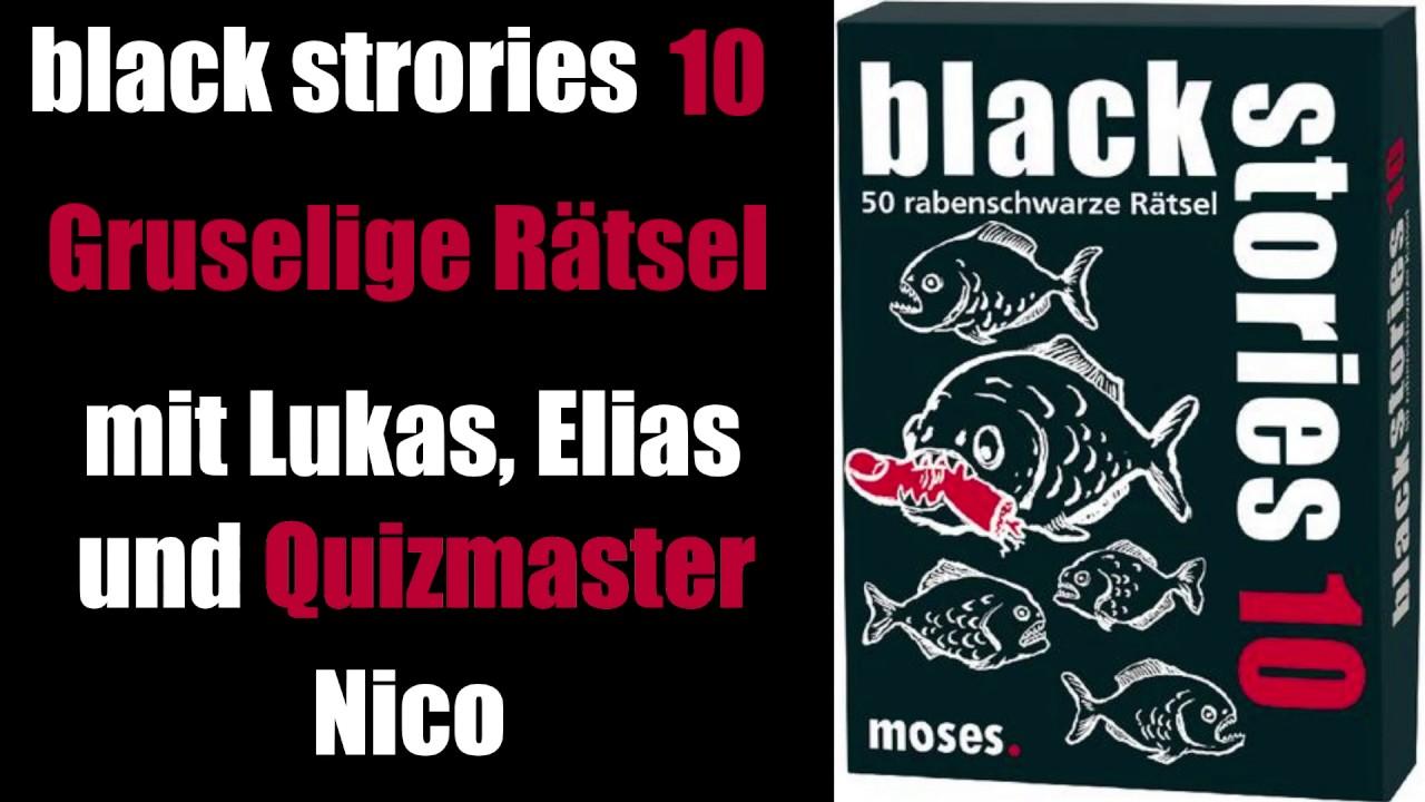Black Stories 10 Spiele
