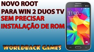(AULA EXPLICADA) ROOT PARA WIN 2 DUOS TV ( SM-G360BT )