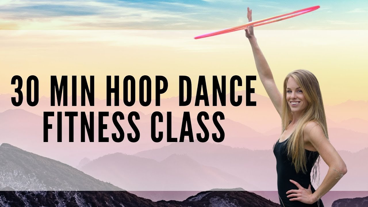 30 min Hoop Dance Fitness Workout | Group Hoop Mondays | Facebook Live 11/23/2020