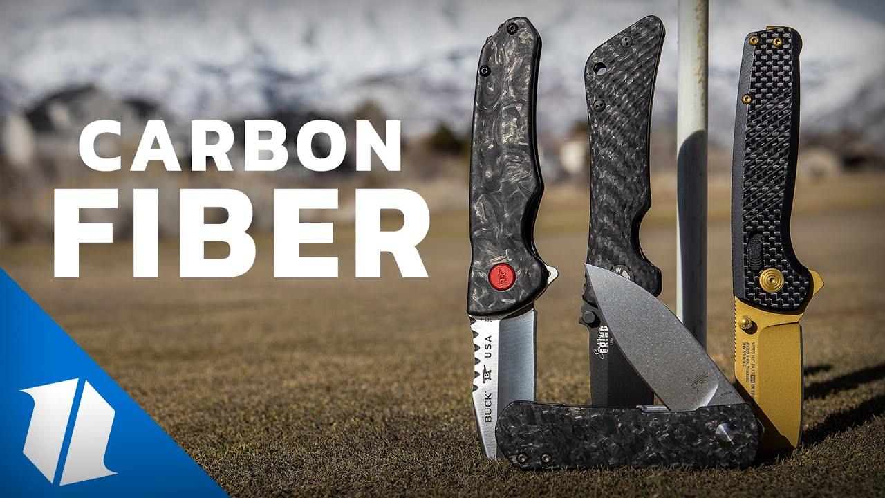 Carbon Fiber Knives at Blade HQ | Knife Banter S2 (Ep 58)