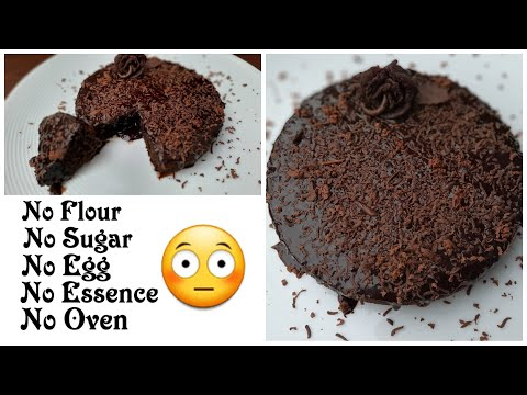 Instant Black Forest/Chocolate Cake | Cake without flour,sugar,egg,essence & oven | Anyone Can Cook