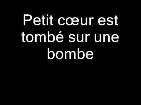 Diam's - Coeur de bombe (Lyrics)