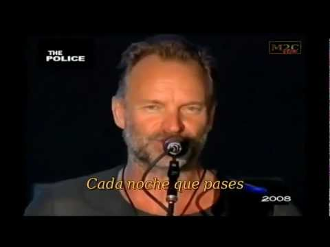 THE POLICE- EVERY BREATH YOU TAKE- SUB ESPAÑOL