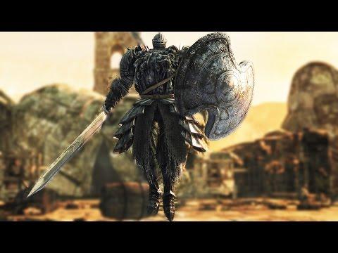 Dark Souls 2: The Pursuer Boss Fight (4k 60fps)