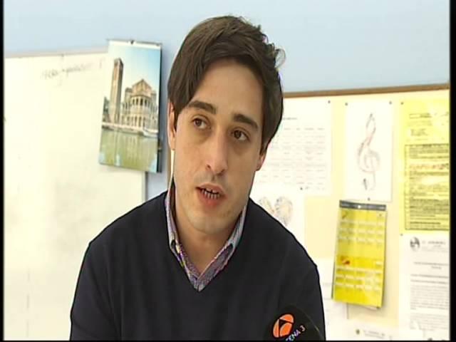 Entrevista a Asier García Real, para Antena 3 televisión.