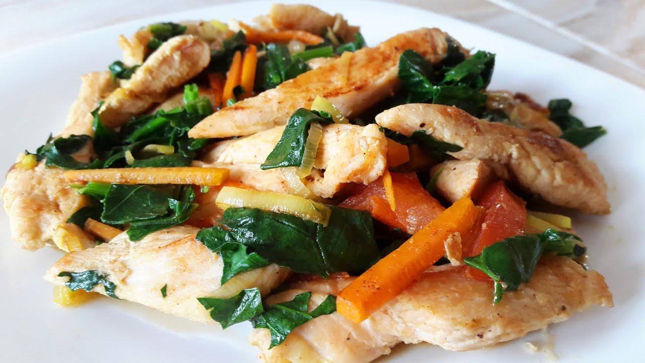 formas de cocinar pechuga de pollo sin grasa