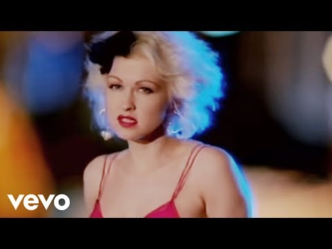 Cyndi Lauper - I Drove All Night (Video)