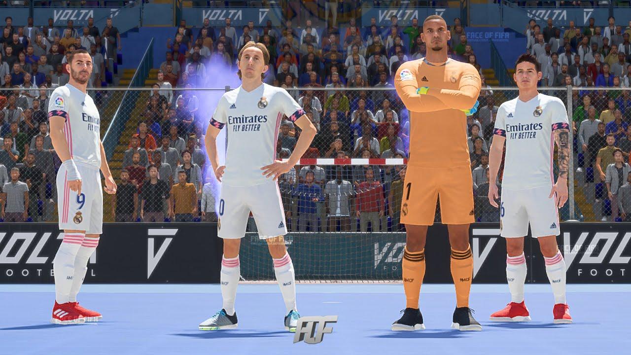 FIFA 21 VOLTA FOOTBALL ft. Real Madrid, PSG, Liverpool - YouTube
