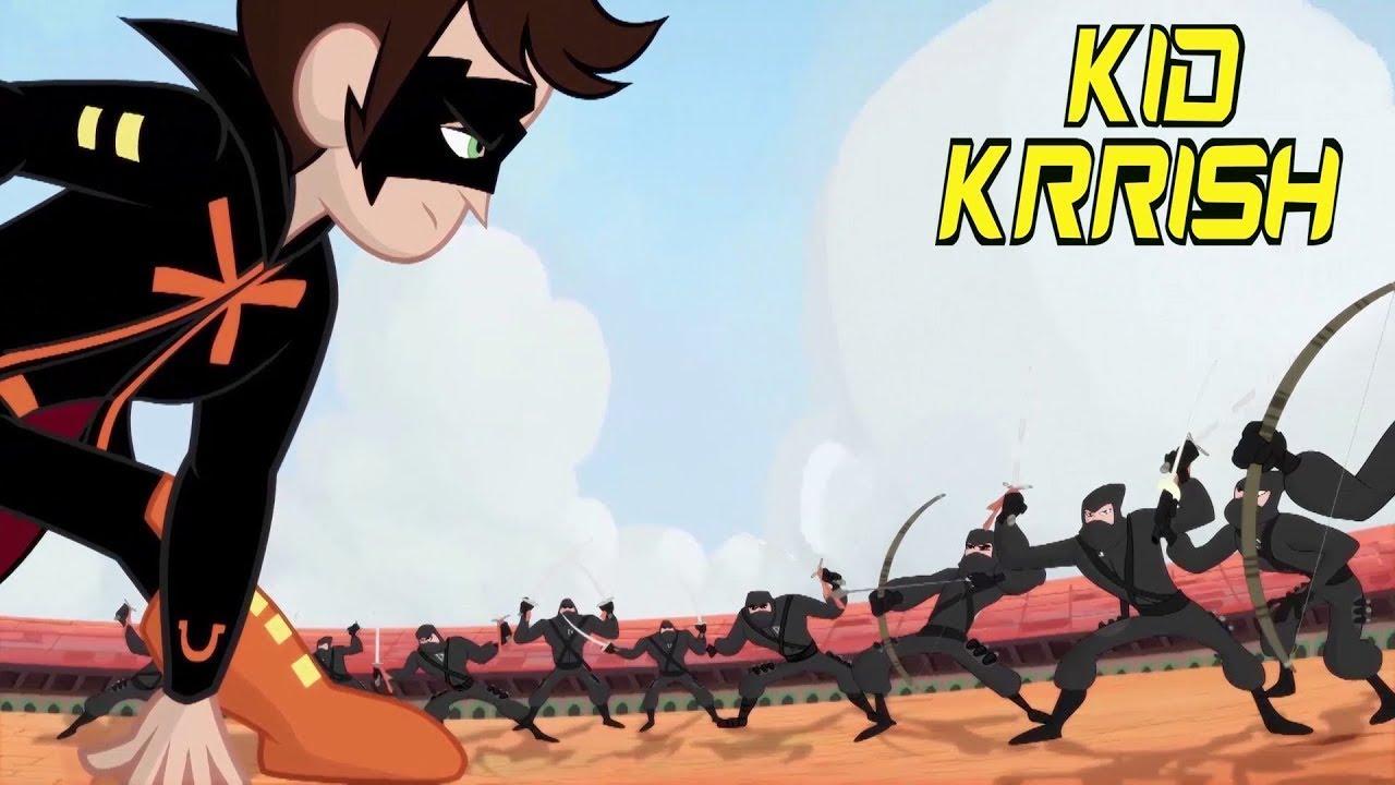 Kid Krrish English | Action Adventure Compilation | Krrish Cartoon for Kids @BAAM Superheroes