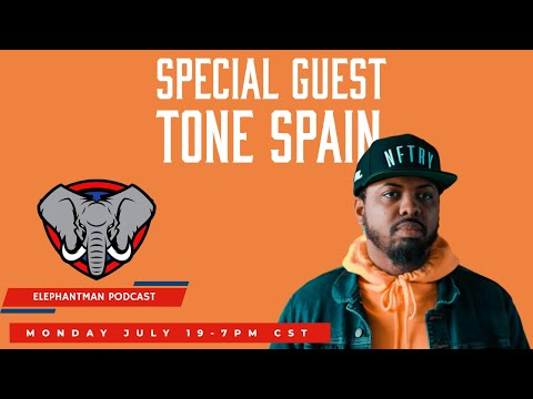 Special guest Tone Spain of Tone Spain TV