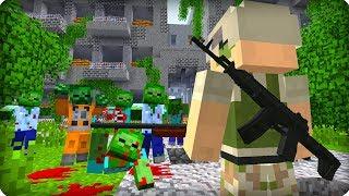 Он один против всех [ЧАСТЬ 35] Зомби апокалипсис в майнкрафт! - (Minecraft - Сериал)