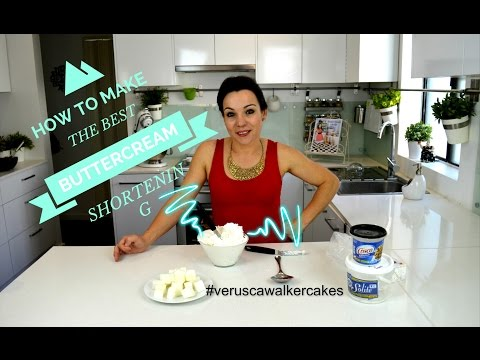 QUICK WAY TO MAKE VEGE SHORTENING | BUTTERCREAM RECIPE | HOW TO MAKE ICING | BY VERUSCA WALKER