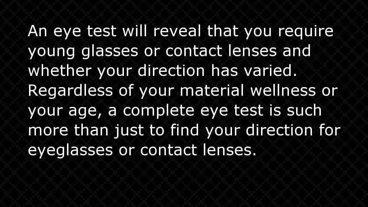 Eye test online youtube nvjuhfo Image collections