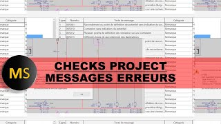 EPLAN MANAGE CHECK PROJECT
