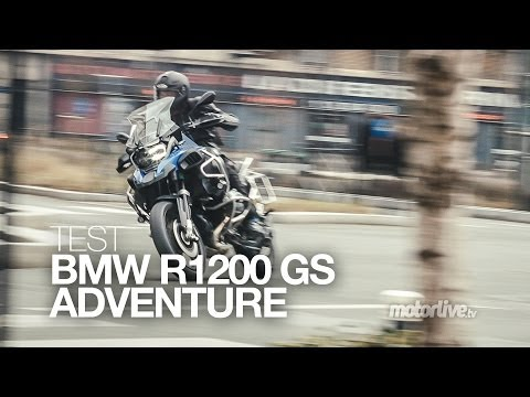 TEST   BMW R 1200 GS Adventure 2014