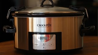 Crock Pot 6 Quart Stainless Slow Cooker (Programmable)