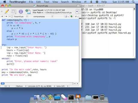 Python for Informatics: Exercise 4 6